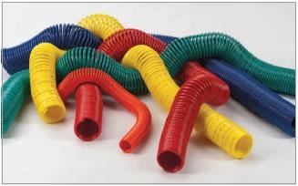 PA spiral slanger